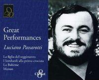 Cover Luciano Pavarotti - Great Performances [Box-Set]